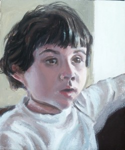 Portrait, 2004 San Francisco, David Dunn, oil on canvas, 10 x 8 inches.