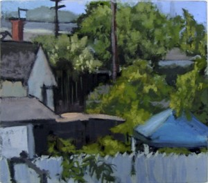 Painting by David Dunn, 2010, San Diego, sold, oil on canvas